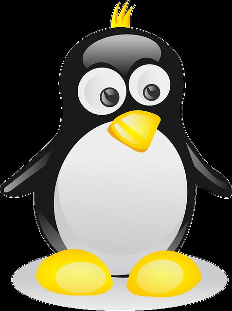 maskotka linux